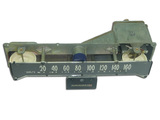 Tape speedometer assembly