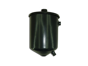 Oil strainer housing of thin clearing assy